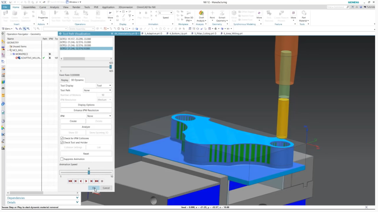 Videos: Whats new in Siemens NX CAM