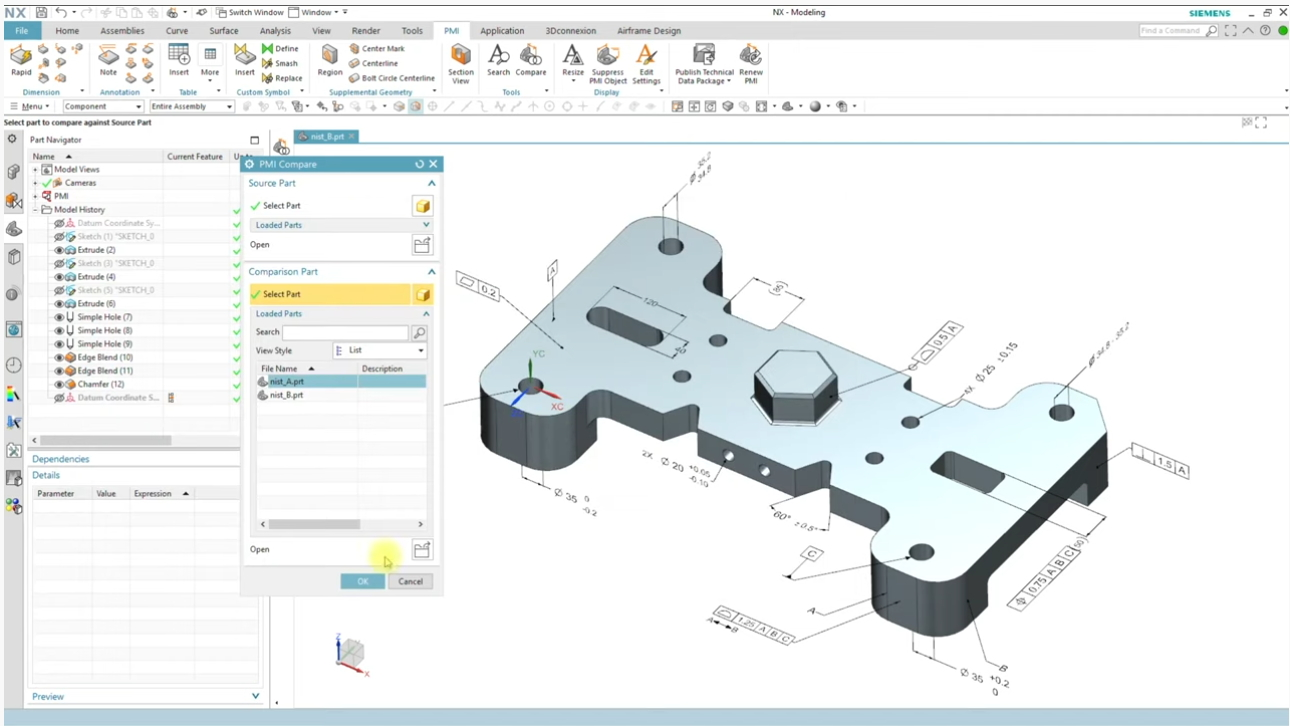 Videotutorials: PMI, Siemens NX