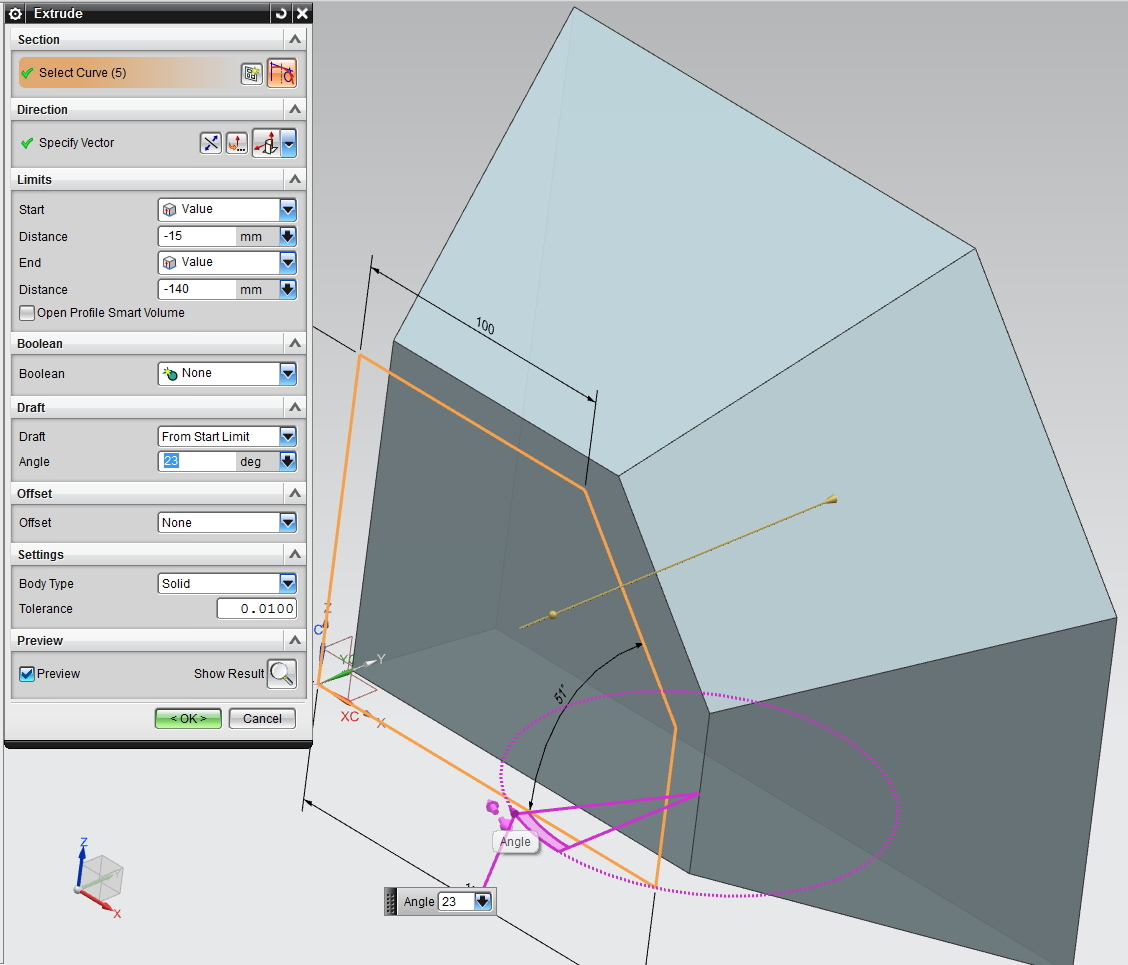 first steps in Siemens NX, download the part in Siemens NX format