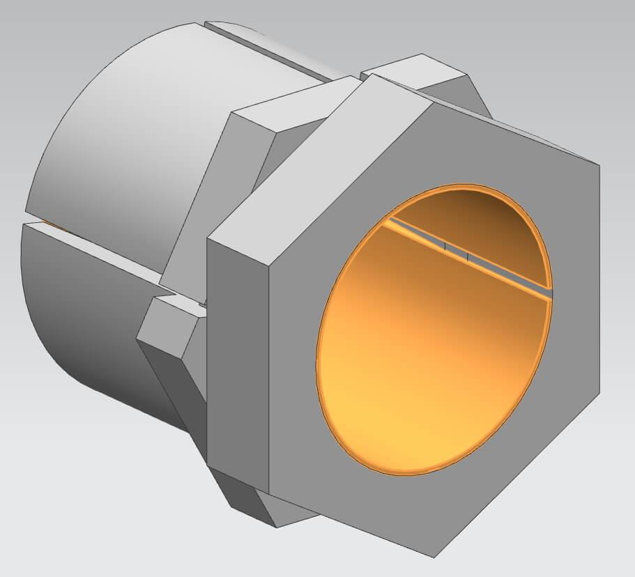 Spannsätze TMK, Bohrungen von 5 bis 45 mm