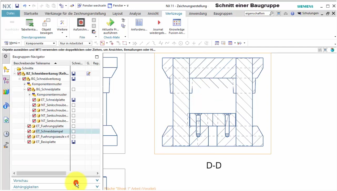 Videotutorials: Siemens NX Drafting (Part 2)